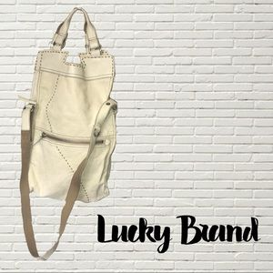 Extra large Lucky brand leather bag